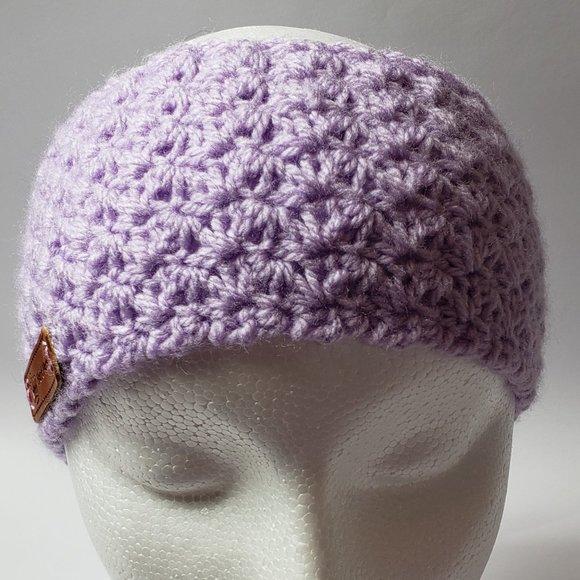 Light Purple Head Band Ear Warmer